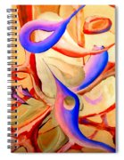 Swaying In Harmony 2 Spiral Notebook