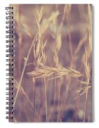 Swaying In The Soft Summer Breeze Spiral Notebook