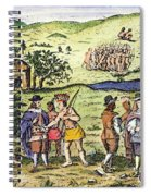 Swedish Colonists, 1702 Spiral Notebook