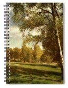 Swedish Landscape Spiral Notebook