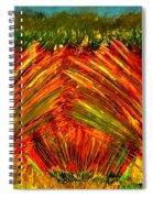 Sweeping Fields Spiral Notebook