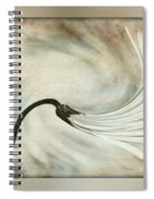 Sweeping Petals Spiral Notebook
