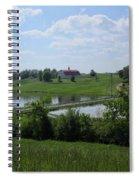 Sweet Alabama Barn Spiral Notebook