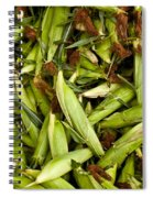Sweet Corn Spiral Notebook