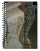Sweet Curves Spiral Notebook