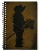 Sweet Little Rider Spiral Notebook