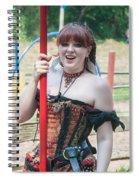 Sweet Nut Vendor Spiral Notebook
