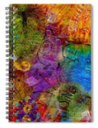 Sweet Songs Of Nature Spiral Notebook