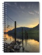 Sweet Wave Of Sunset Spiral Notebook