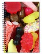 Sweets And Candy Mix Spiral Notebook