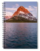 Swiftcurrent Lake At Dawn Spiral Notebook