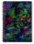 Swimming In Circles Spiral Notebook
