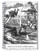 Swimsuits, 1892 Spiral Notebook