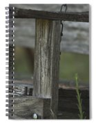 Swing In The Woods Spiral Notebook