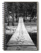 Swinging Cable Foot Bridge Spiral Notebook