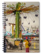 Swinging Spiral Notebook