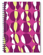 Swirly Stripe Spiral Notebook