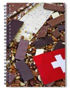 Swiss Chocolate Spiral Notebook