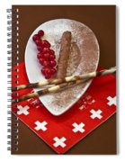 Swiss Chocolate Praline Spiral Notebook