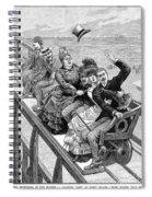 Switchback Railway, 1886 Spiral Notebook