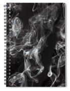 Swriling Smoke  Spiral Notebook