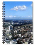 Sydney - Aerial View Panorama Spiral Notebook