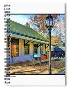 Sylvania Train Station Spiral Notebook