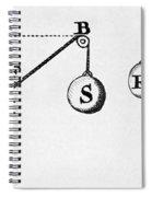 Symbol Language Of Statics Spiral Notebook