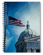 Symbol Of Freedom Spiral Notebook