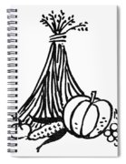 Symbol: Thanksgiving Spiral Notebook