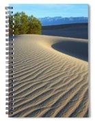 Symphony Of The Sand Spiral Notebook