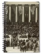 T. Roosevelt Inauguration Spiral Notebook