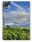 Table Bluff In Spring Spiral Notebook