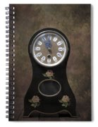 Table Clock Spiral Notebook