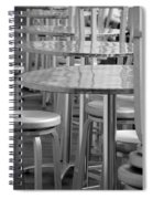 Tables And Stools Spiral Notebook