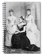 Taft Family, 1884 Spiral Notebook