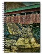 Taftsville Covered Brdidge Spiral Notebook