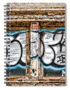 Tagged Window Spiral Notebook