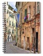 Taggia In Liguria Spiral Notebook