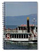 Tahoe Gal On Lake Tahoe Spiral Notebook