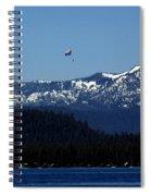 Tahoe Parasailing Spiral Notebook