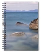 Tahoe Rocks Spiral Notebook