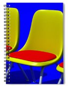 Take Your Seat Spiral Notebook