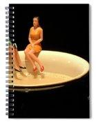 Taking A Break 2 Spiral Notebook
