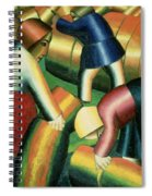 Taking In The Rye Spiral Notebook