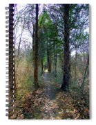 Taking The Long Trail Spiral Notebook