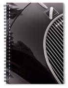 Talbot Lago Spiral Notebook