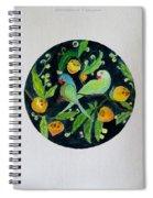 Talkative Parakeets Spiral Notebook