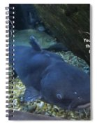Talking Fish Spiral Notebook
