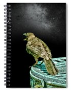 Talking To The Moon Spiral Notebook